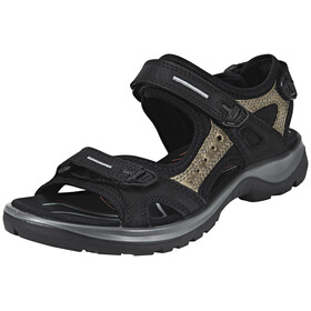 ECCO Offroad Sandals Women Black/Mole/Black